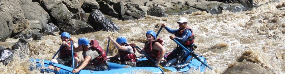 Путешествие по Колумбии. День 10 и 11. (22, 23 сентября). Рафтинг в San Gil, Bucaramanga.