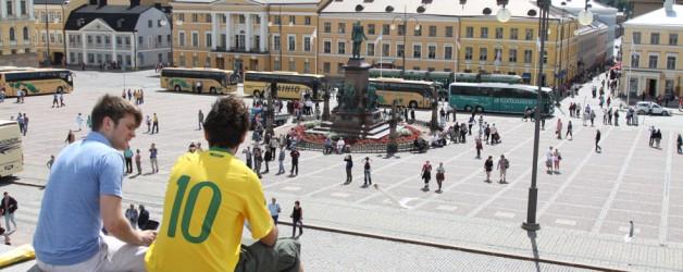 Норвегия на автомобиле. День 1 и 2. Москва, Финская граница, Хельсинки.